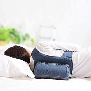 WoodyKnows Side Sleeping Rucksack Anti-Snoring Verstellbares Kissen, Lösung für Zunge Schnarchen, Stop Schnarchen verursacht durch Liegen auf der Rückseite, Alternative zum Mundstück