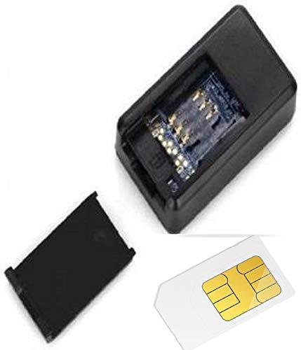VANSH TRADE Mini GPS Tracker Long Standby Magnetic SOS Tracker Locator Device Voice Recorder Durable,Car,Bike