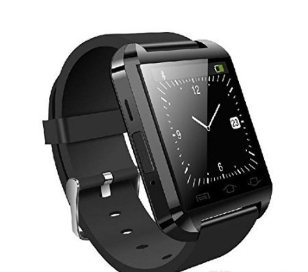 Smart Watch Smartwatch Phone U8 Bluetooth Orologio per Android Samsung S3, S4, S5, S6, S7, S7 edge, A5, A7, J5, Core Plus, Grand Prime, Note nero