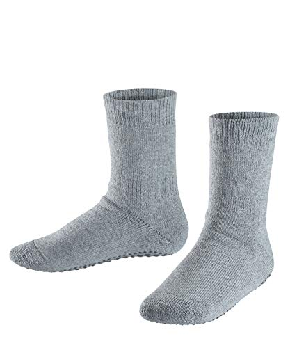 FALKE Kinder Catspads Stoppersocken, Grau (light grey), 39-42