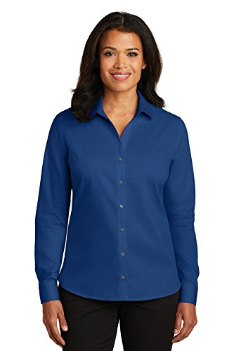 Red House® Ladies Non-Iron Twill Shirt. RH79 Blue Horizon XS