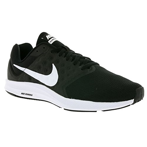 Nike Downshifter 7, Chaussures de Running Homme Noir (Black/White)