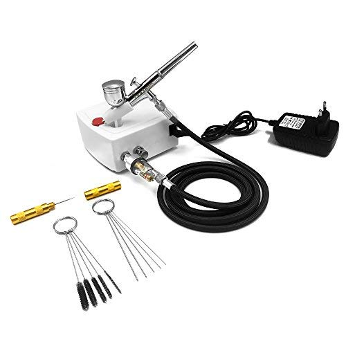 Bright Gocheer Airbrush Universal Replaceable Nozzle And Needle 0.2mm 0.3mm 0.5mm Kit Systems & Sets