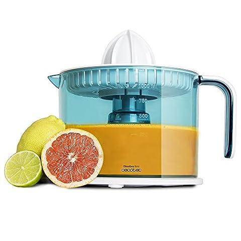Exprimidor-elctrico-para-naranjas-y-ctricos-de-40-W-Tambor-de-1-litro-BPA-Free-Doble-sentido-de-giro-doble-cono-y-cubierta-antipolvo-ZitrusEasy-Basic-de-Cecotec
