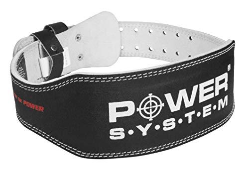 Power System Pas Skórzany Basic Gewichthebergürtel Turngürtel (L)