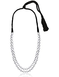 Ahilya Statement Collection .925 Sterling Silver Necklace