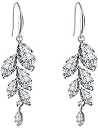 Hosaire 1 Pair Fashion Charm Elegant Five-Pointed Star Earrings Silver Jewelry Earrings Stud For Women Girls Present rQl4JKeDI