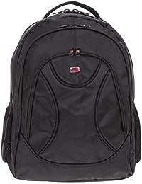 320bab2af717f NEW REBELS Rucksack Big Backpack XL Laptoprucksack 51.101300 SCHWARZ +  Flasche