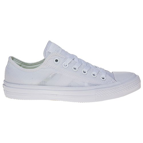 Converse Chuck Taylor All Star Ii Low Femme Baskets Mode Blanc Blanc