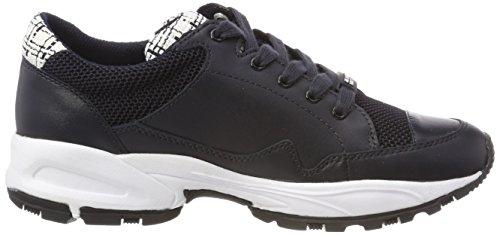 Jil Sander Damen Sporty Sneaker Blau (Navy)