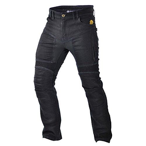 Trilobite Motorcycle- Vaqueros de moto para hombres, Negro, 32
