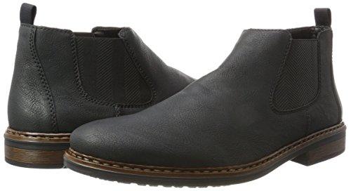 ccb2e87098ff Rieker Herren 37680 Chelsea Boots, Schwarz (Schwarz), 45 EU ...