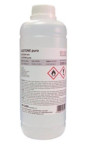 Acetona pura, 1litro