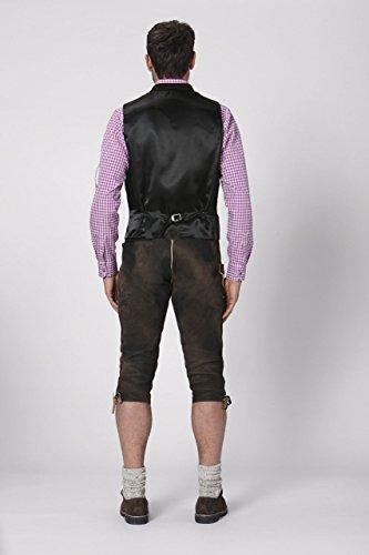 Stockerpoint - Herren Trachten Weste in verschiedenen Farbtönen, Calzado, Größe:46, Farbe:Braun - 4