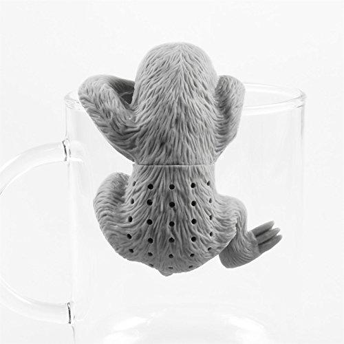Niedliches Tier Faultier Tee-Ei aus Silikon (BPA-frei) für losen Tee Tee-Infuser - 2