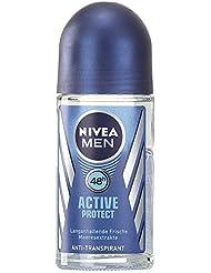 Nivea Men Deo Active Protect Deoroller, Antitranspirant, 3er Pack (3 x 50 ml)