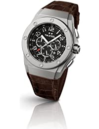 Tw-Steel Watch CEO Leather TWCE4013 TECH Chronograph Quartz