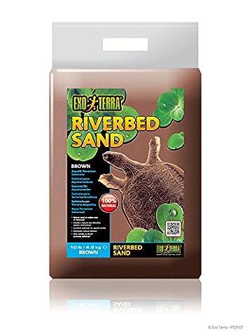Exo Terra PT3107 Riverbed Sand, 4.5 Kg, Brown