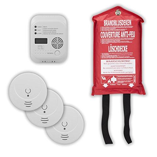 Smartwares 10.025.73 Kit Seguridad contra Incendios