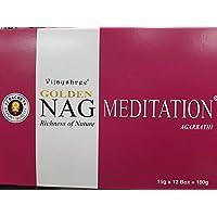 Vijayshree Räucherstäbchen Golden Nag Meditation 12 x 15 g preisvergleich bei billige-tabletten.eu