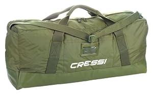 Cressi UA925600 Jungle - Maleta para deportes acuáticos (80 x 35 x 22 cm), color verde