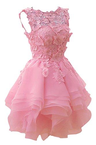 Missdressy - Robe - Trapèze - Femme Rose - Rose bonbon