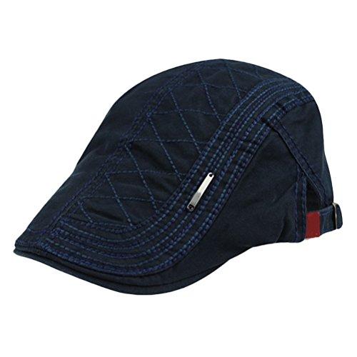 Zhhlaixing Outdoor sports Casual Cotton Cap Fashion Mens Beret Hut (Hats Man)