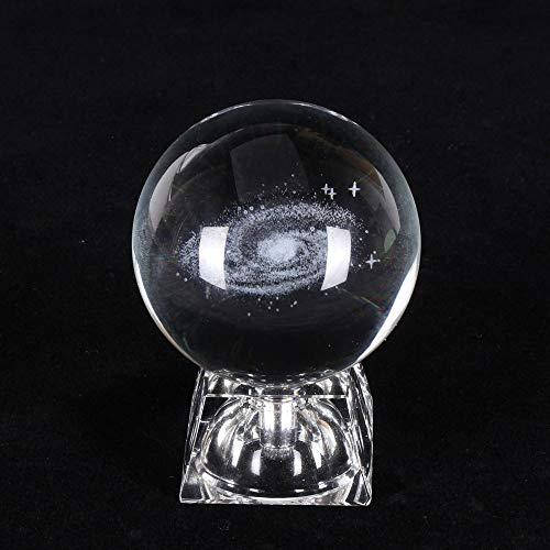 System Kristall Lichter Nachtlichter Luminous Craft Glass Round Ball Startseite Schreibtisch Dekoration Lichter Geschenke ()