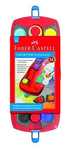 Farbkasten 24er Connector FABER CASTELL 125031