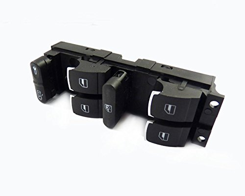 Puissance Window Switch 1 K3959857 a 2 K0959857 a pour VWS Caddy 2 K Golf Mk5 Passat B6 Jetta 2003 2004 2005 2006 2007 2008 2009 2010