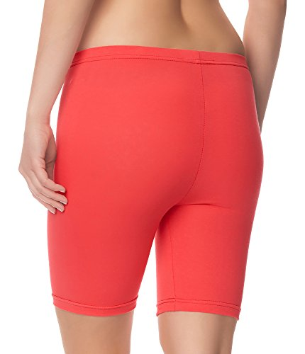 Ladeheid Damen Shorts Long LAMA04 Coral20