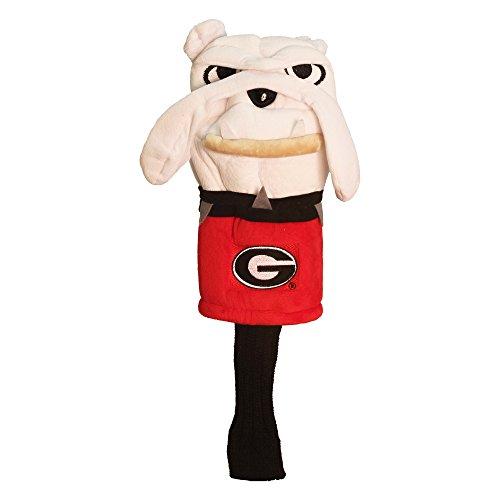 Team Golf NCAA Mascot Schlägerhaube, passend für die meisten übergroßen Fahrer, extra Lange Socken für Schaftschutz, offizielles Lizenzprodukt, Georgia Bulldogs
