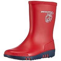 Dunlop Unisex Kids' Kinder Gummistiefel Acifort Mini Unlined Rubber Boots Half Shaft Boots & Bootees