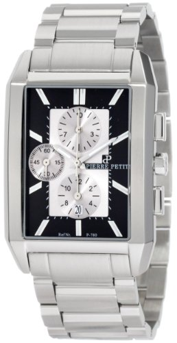 Pierre Petit Men's Quartz Watch Paris P-780C with Metal Strap