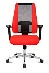 Topstar Air Syncro Extensively Manufactured Pro-Office Swivel Chair - Red/Black
