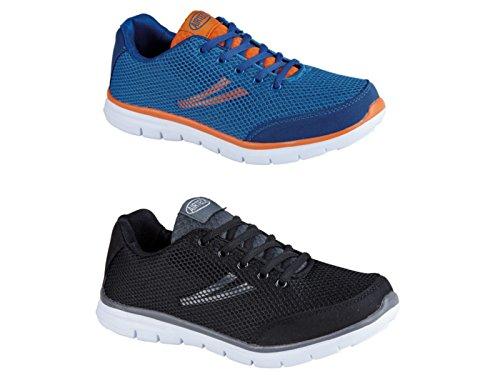 Shadow Airtech Ultra leggero, da uomo, stringate, in stile Casual, per sport, Fitness, palestra, Scarpe da ginnastica, misura: da 40 a 45 Blu