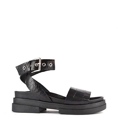 Ash Chaussures Sienna Sandales Noir Femme Noir