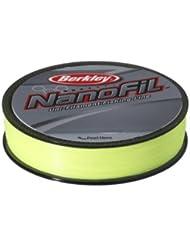 Berkley Nanofil Chartreuse ENF27017-HV 270 m - Sedal monofilamento de pesca, color amarillo, talla 270 m