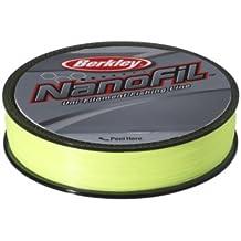 Berkley Nanofil Chartreuse ENF27028-HV 270 m - Sedal monofilamento de pesca, color amarillo, talla 270 m