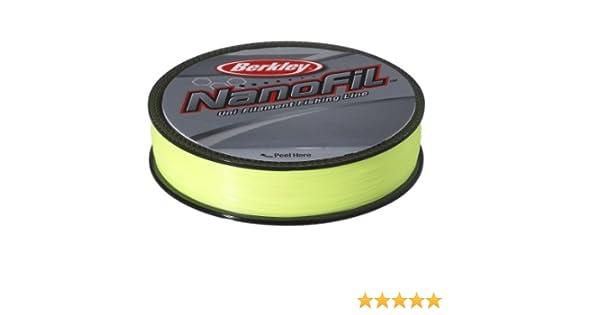 Berkley Nanofil 270m 0.15mm Hi-vis Chartreuse schwarz S