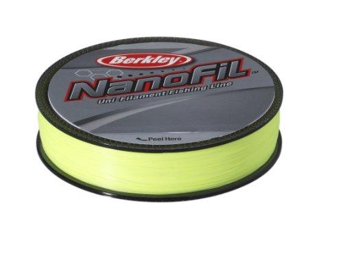 Berkley ENF12520-HV Nanofil Fil de pêche haute visibilité Chartreuse 0,20mm 125m