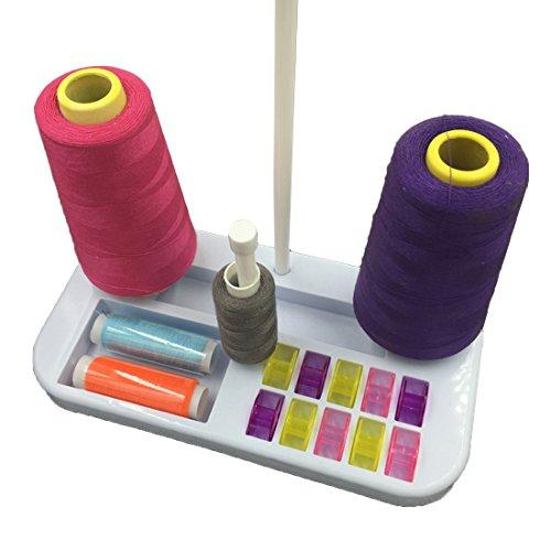 JoyliveCY Soporte bobina hilo bordar coser accesorios