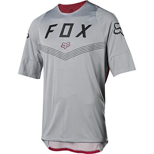 Fox Jersey Defend Fine Line Steel Grey L - Fox Racing Jersey Mesh