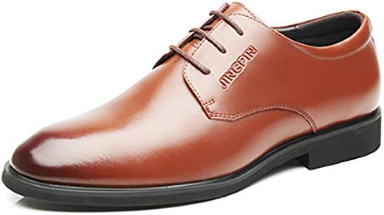 Business scarpe Mens Dress Brogue Pelle Pelle Pelle A Punta Derby Lace Up Oxford Wedding Ufficio Alla Moda Vintage Flat | Primi Clienti  | Maschio/Ragazze Scarpa  07ecc5