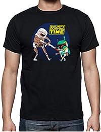 The Fan Tee Camiseta de Hombre Hora de Aventuras Clone Wars Finn Jake