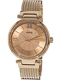 GUESS Analog Rose Gold Dial Women's Watch - W0638L4