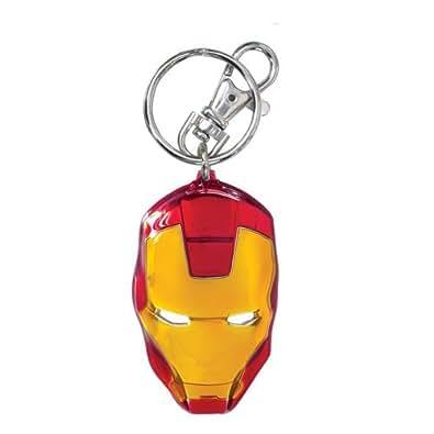 Marvel Iron Man Coloured Pewter Key Ring