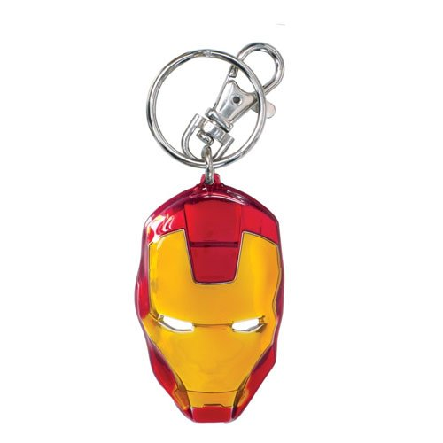 Monogram- Marvel Llavero Cabeza Iron Man