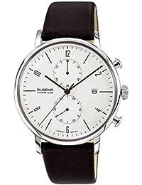 Dugena - 7000239 - Montre Homme - Quartz Chronographe - Bracelet Cuir Noir