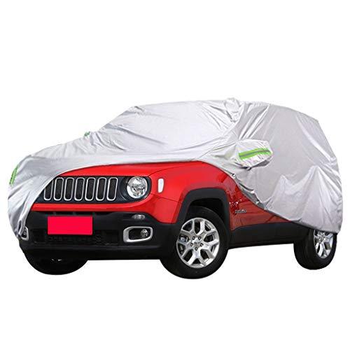 Autoplanen Kompatibel mit Jeep Renegade Special Verdickungs-Sonnenschutz-Regendichtschutz Snowproof Car-Cover